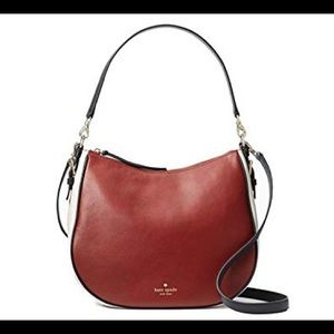 Kate Spade ♠️ Cobble Hill Mylie convertible hobo